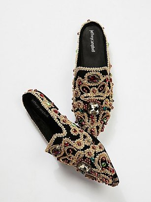 Crown Jewels Mule by Jeffrey Campbell at Free People $178 thestylecure.com
