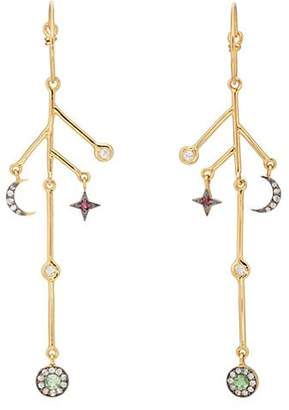 Eye M Women's Sky Branch Earrings - Gold