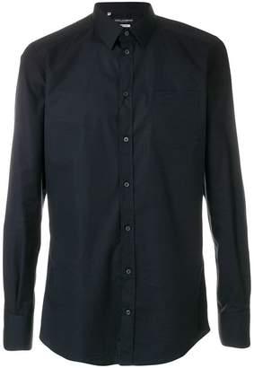 Dolce & Gabbana curved hem shirt