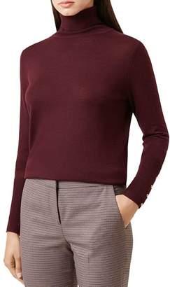 Hobbs London Lara Merino Wool Turtleneck Sweater