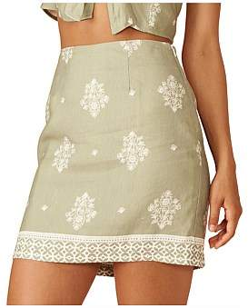 MinkPink Sweet Sahara Skirt
