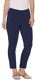 Martha Stewart Regular Stretch Twill Pull-OnAnkle Pants