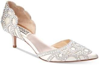 Badgley Mischka Ginny D'Orsay Kitten Heels