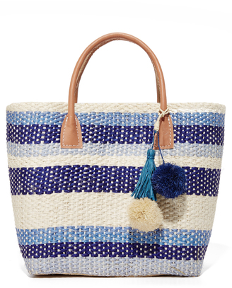 Hat Attack Small Provence Tote $110 thestylecure.com