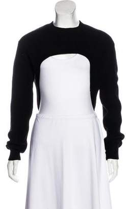 Givenchy Crew Neck High-Low Sweater