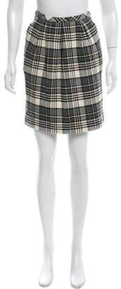 See by Chloe Pleat-Accented Mini Skirt