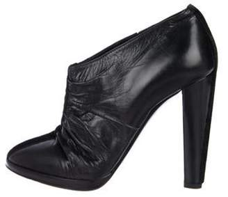 Pierre Hardy Leather Ankle Booties Black Leather Ankle Booties