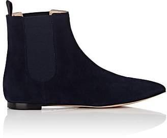 Gianvito Rossi Women's Suede Chelsea Boots - Navy