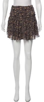 Etoile Isabel Marant Printed Mini Skirt
