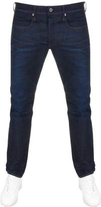 G Star Raw 3301 Tapered Fit Jeans Blue