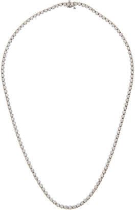 Neiman Marcus Diamonds 14k Graduated Diamond Tennis Necklace, 5.0tcw