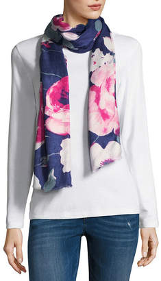 Liz Claiborne Rose Pashmina Floral Scarf