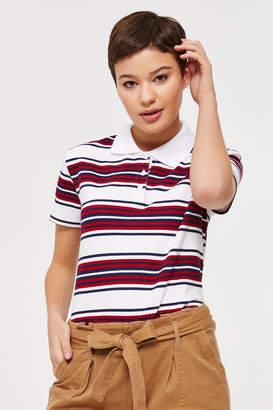 Ardene Striped Polo T-shirt