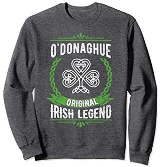 ODonaghue Name Sweatshirt Green Original Irish Legend