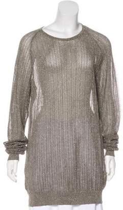 Ellery Lurex Wool Sweater gold Lurex Wool Sweater