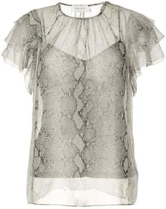Zimmermann python print blouse