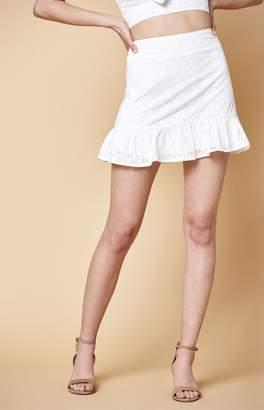 KENDALL + KYLIE Kendall & Kylie Eyelet Skirt