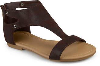 Journee Collection Bevin Flat Sandal - Women's