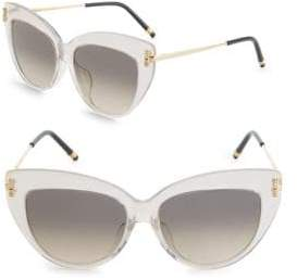 Boucheron 54MM Cat-Eye Sunglasses