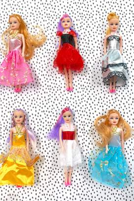 Heart to Heart Fashion Doll Play - Set of 6