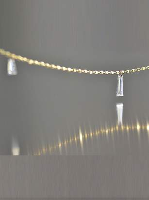 Kataoka Baguette Diamond Fringe Necklace - Yellow Gold
