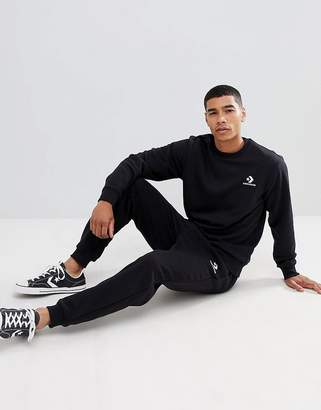 Converse Skinny Joggers In Black 10008815-A01