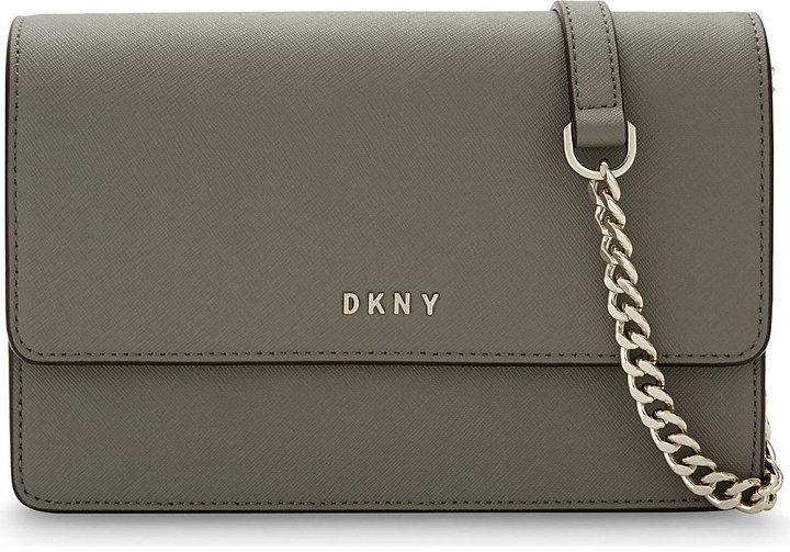DKNY Dkny Bryant Park small Saffiano leather cross-body bag