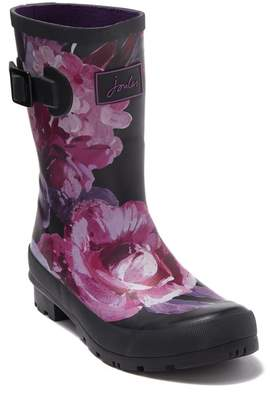 Joules Print Molly Welly Rain Boot (Women)