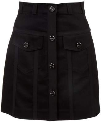 David Koma button mini skirt