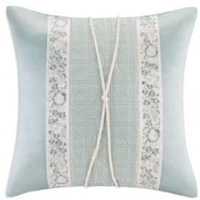Natori Canton Square Decorative Pillow, 18 x 18