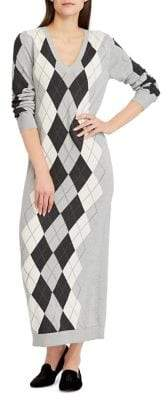 Lauren Ralph Lauren Argyle Maxi Dress