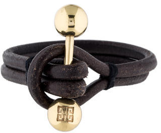 Givenchy Leather Wrap Bracelet $50 thestylecure.com