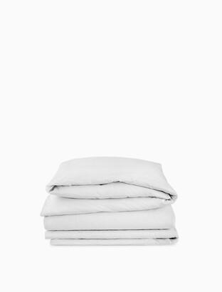 Calvin Klein modern cotton - body duvet cover in white