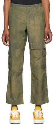 Rochambeau Green Cargo Pants