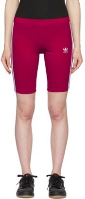 adidas Pink Adicolor Cycling Shorts