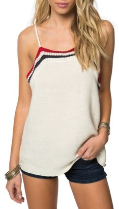 Women's O'Neill Eli Crochet Tank $49.50 thestylecure.com