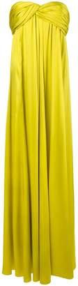 Rochas draped empire line dress