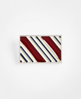Brooks Brothers BB#1 Stripe Lapel Pin