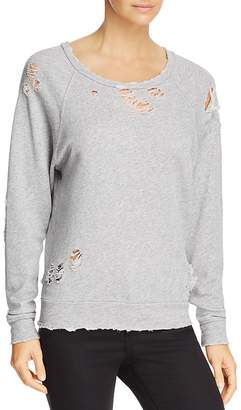Iro . Jeans IRO.JEANS Uprile Destroyed Sweatshirt