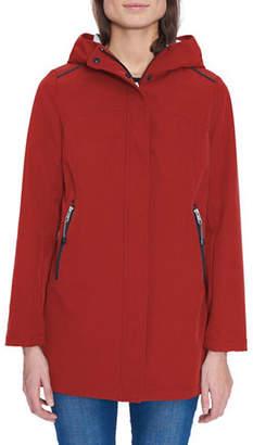 London Fog Long-Sleeve Soft Shell Fleece Jacket