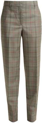 Calvin Klein Wall Street Prince of Wales-checked wool trousers
