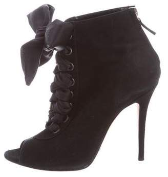 Sebastian Milano Lace-Up Suede Boots