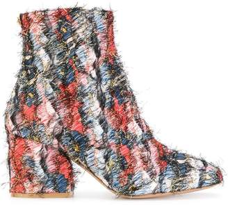 Salvatore Ferragamo Fantasy fringe boots