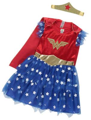 Dc Comics George Wonder Woman Fancy Dress Costume