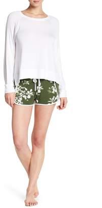 Shimera Long Sleeve Print Shorts 2-Piece Pajama Set