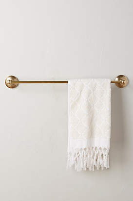 Anthropologie Hammered Towel Bar