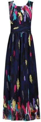 Dorothy Perkins Womens *Jolie Moi Navy Multi Coloured Maxi Dress