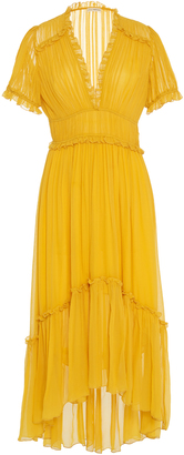 Ulla Johnson Sonja Tiered Dress $575 thestylecure.com