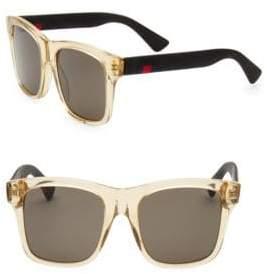 Gucci Classic 53MM Square Sunglasses
