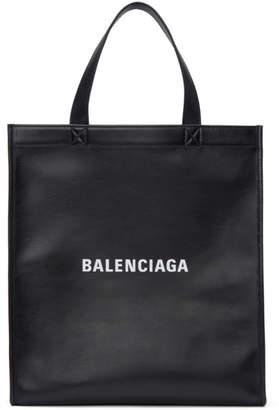 Balenciaga Black Small Market Shopper Tote